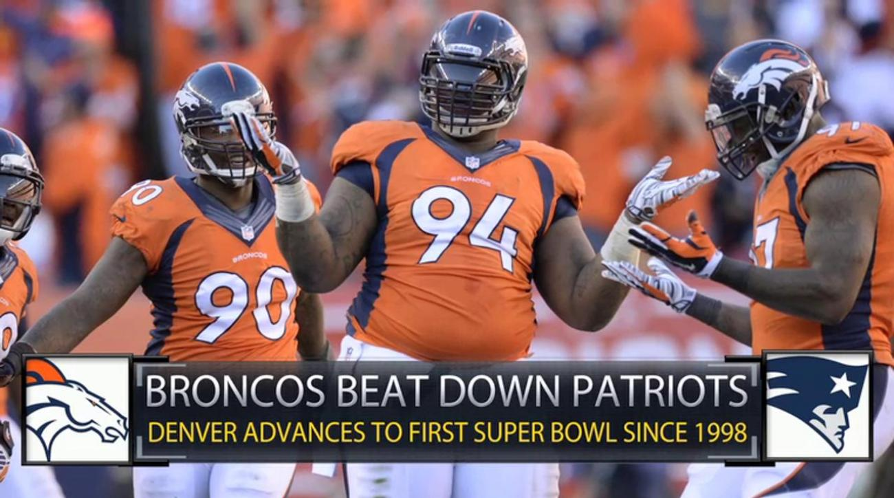Complete effort sends Broncos over Patriots in AFC title game