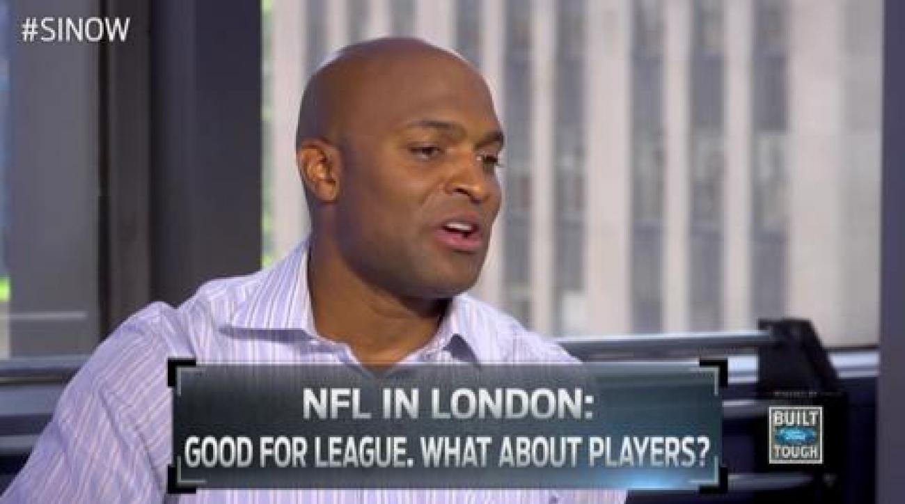 Amani Toomer: NFL in London good for Football
