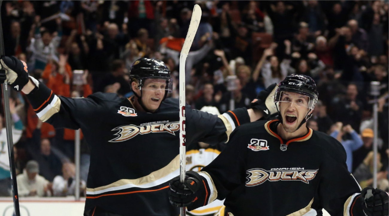 SI Now: Ducks hold top spot in NHL Power Rankings