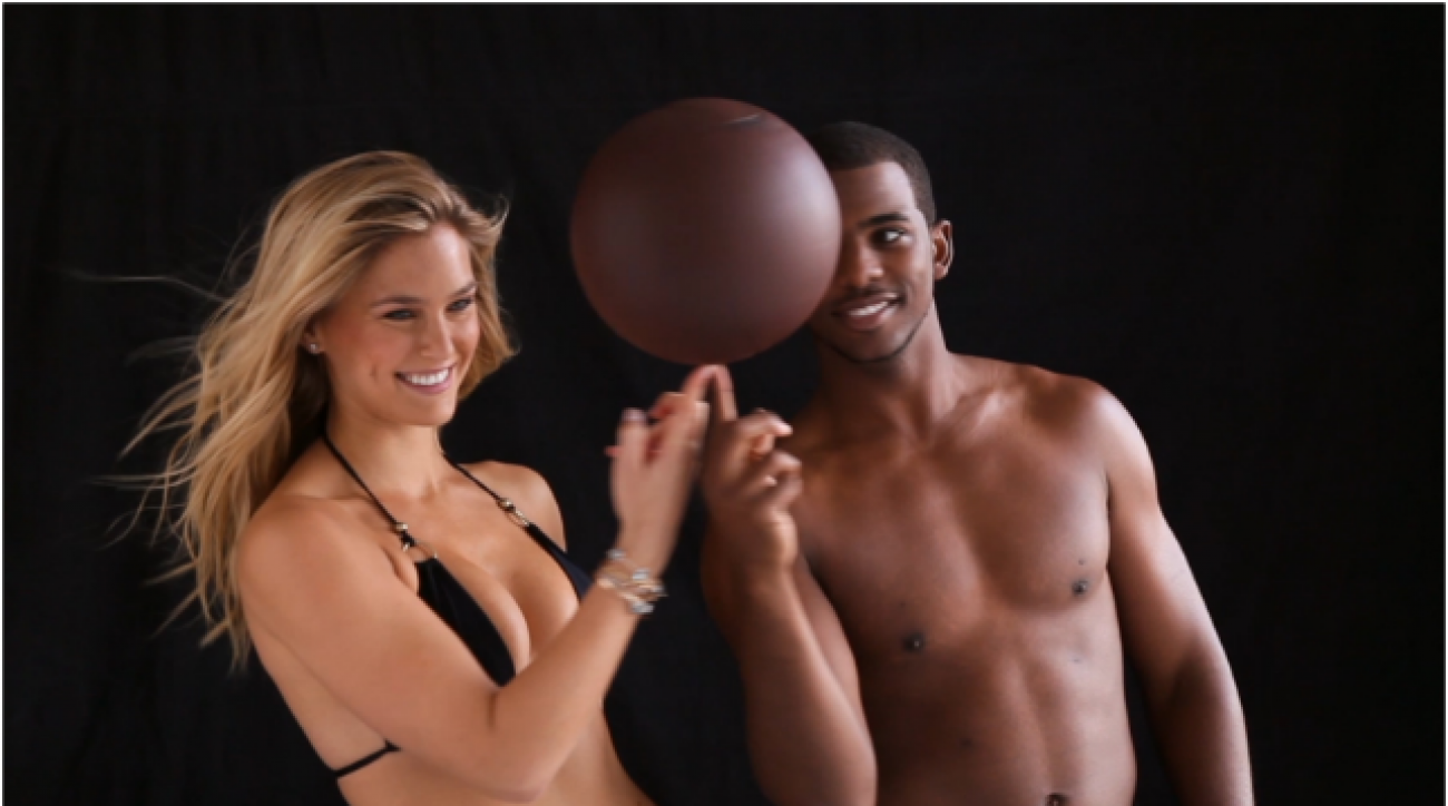Swim Daily, Bar Refaeli and Chris Paul