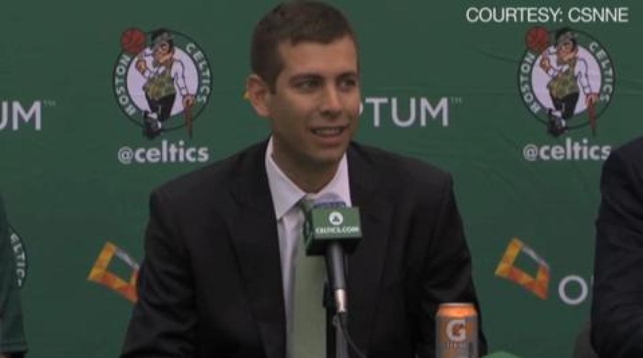 Brad Stevens on being new coach of the Celtics