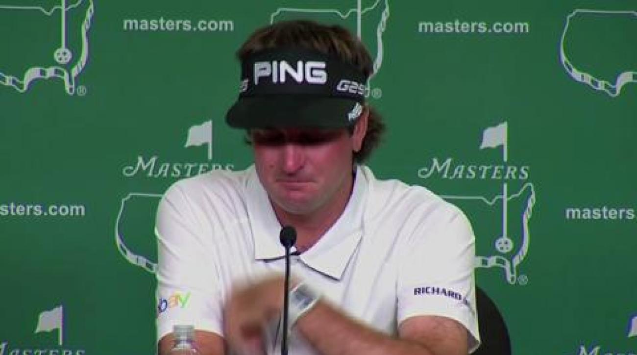Bubba breaks down at Masters press conference