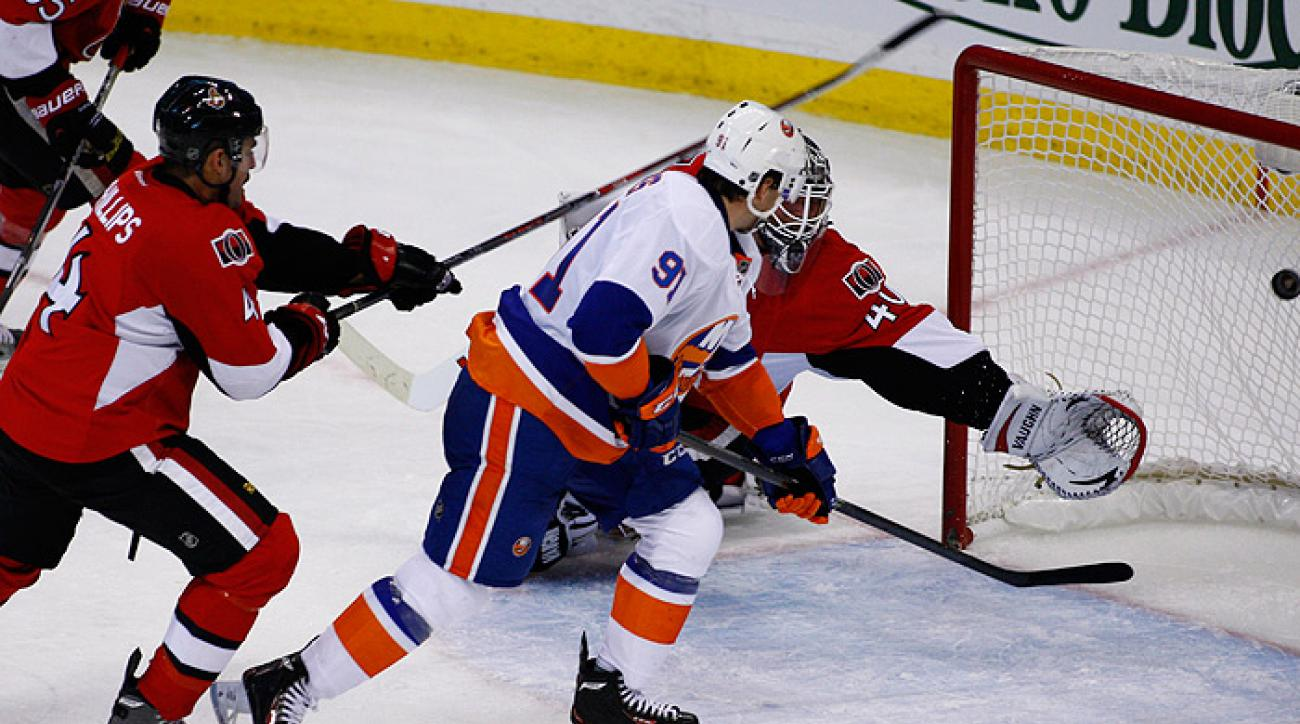 Nielsen to the rescue for Islanders against Ottawa