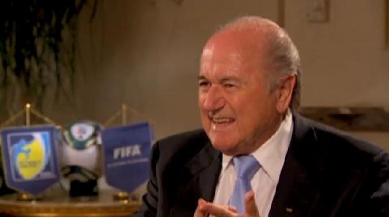 Blatter: Rebuilding FIFA's reputation, Part 2