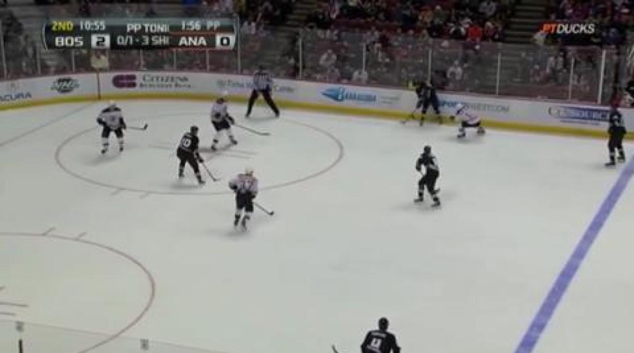 Turco, Bruins stop Ducks