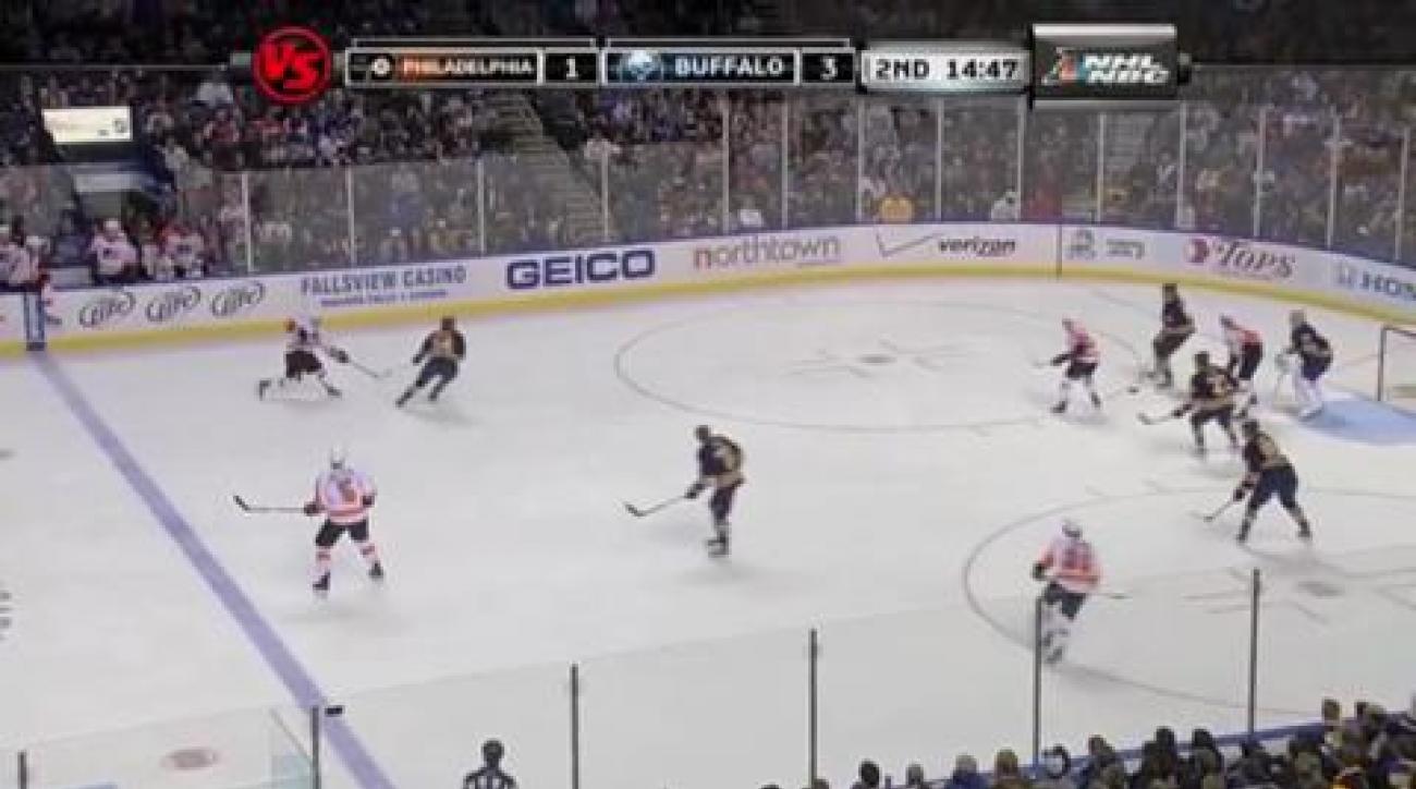 Giroux, Flyers stun Sabres in OT