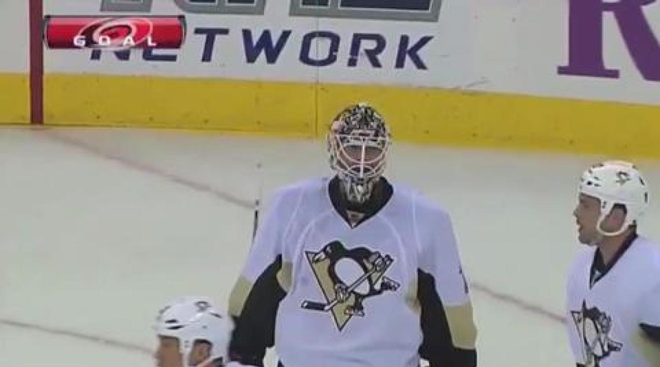 Penguins topple 'Canes