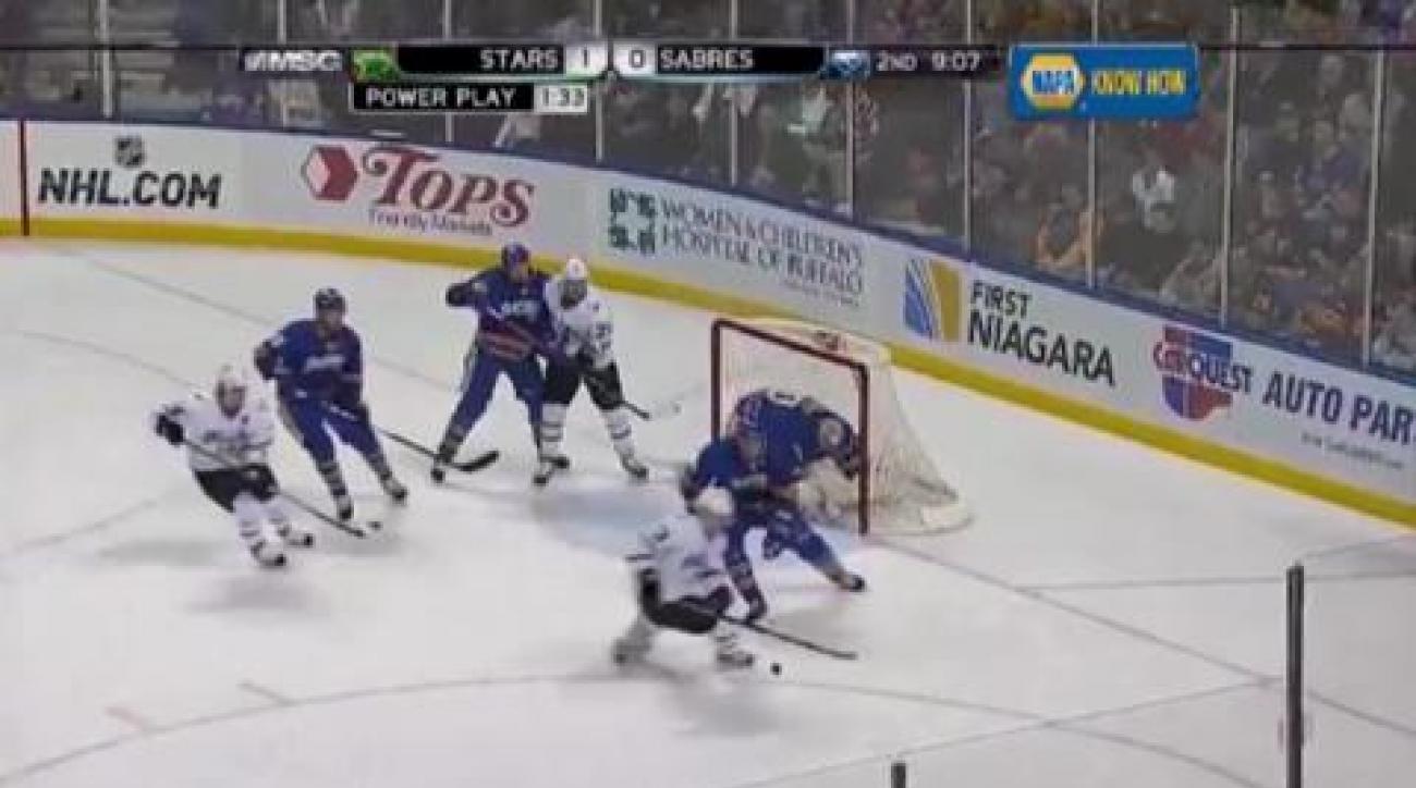 Sabres tackle Stars
