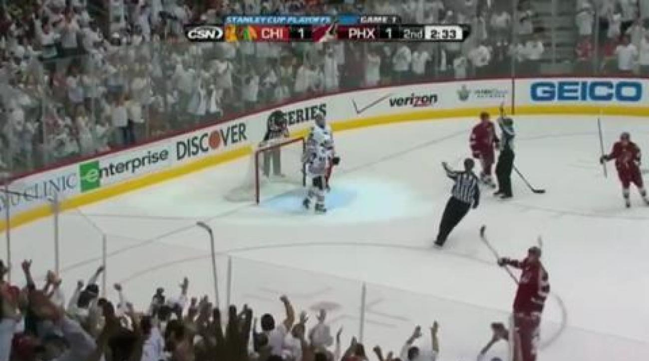 Game 1: Coyotes reign in OT