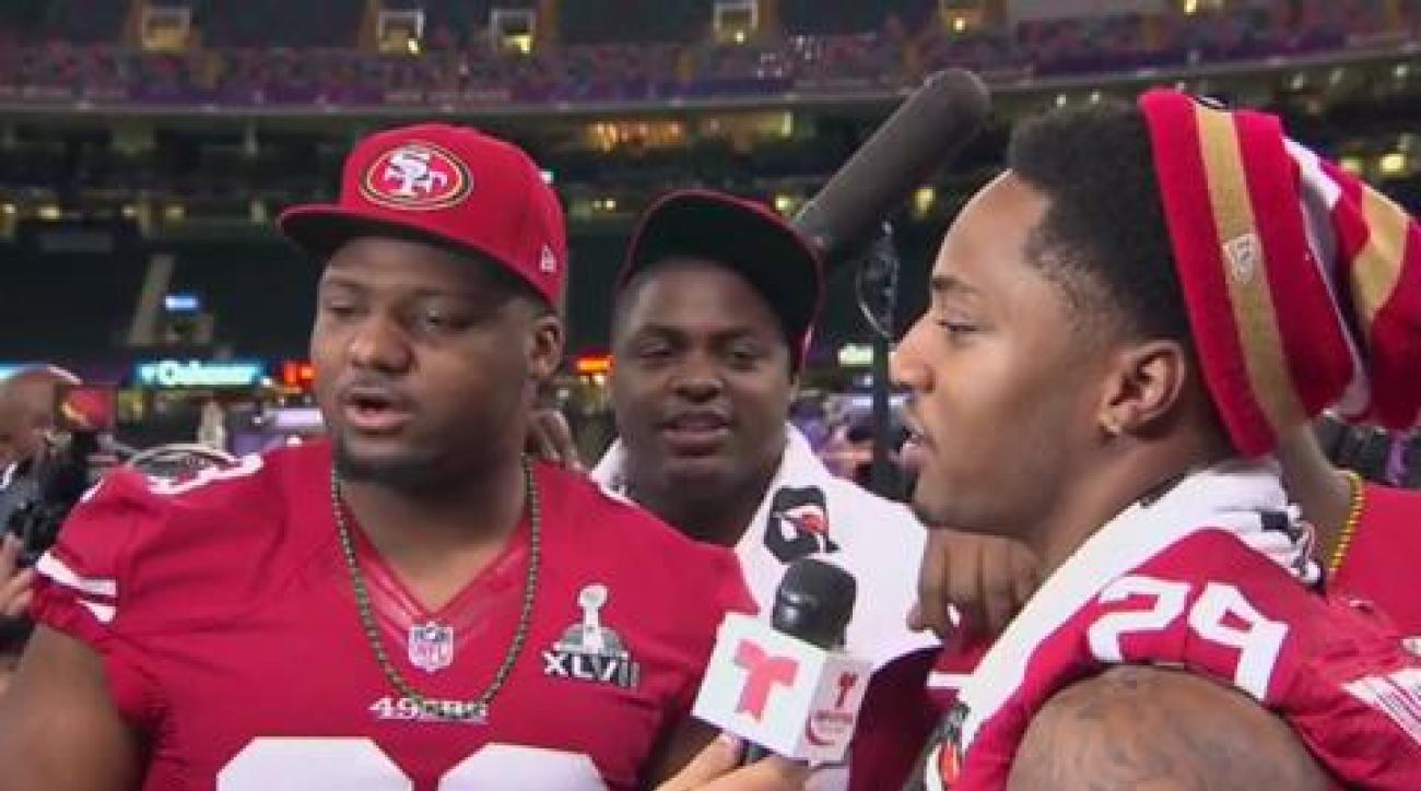 Sights and sounds from Super Bowl XLVII Media Day