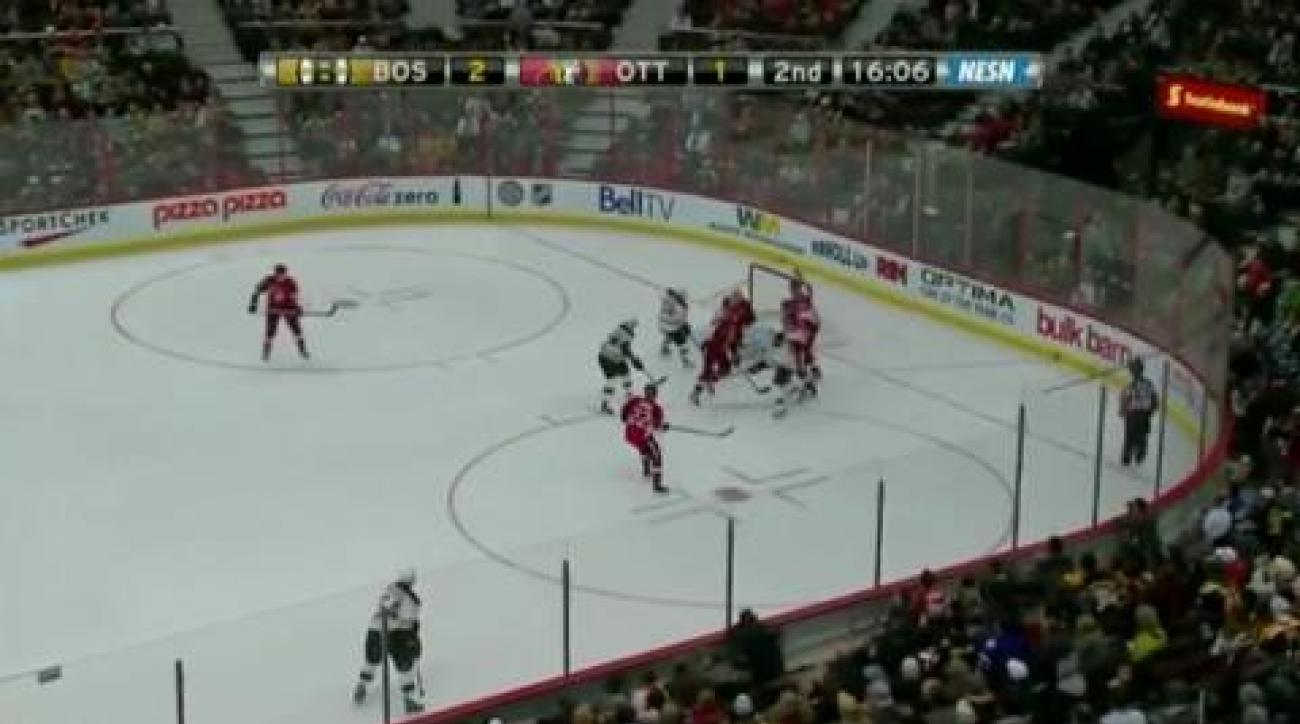 Bruins stop Sentators streak