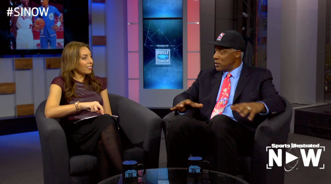 SI Now: Dr. J reflects on photos from his career