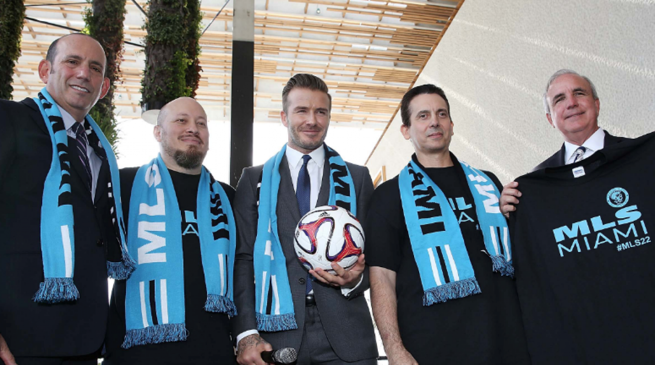 SI Now: David Beckham expresses expansion interest in Miami