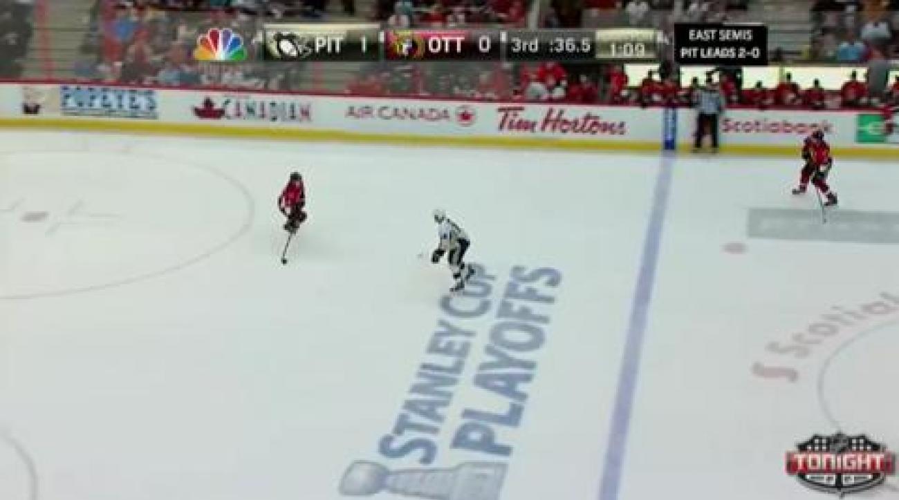 Senators top Penguins in Game 3