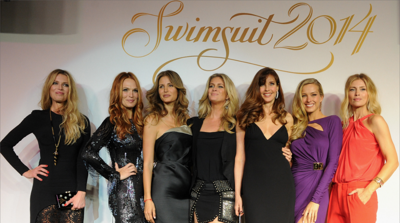 2014 Swimsuit launch party in New York