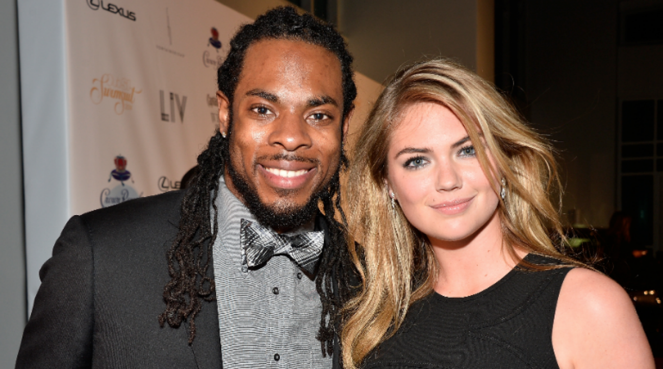 SI Now: Richard Sherman suits up for SI Swimsuit red carpet