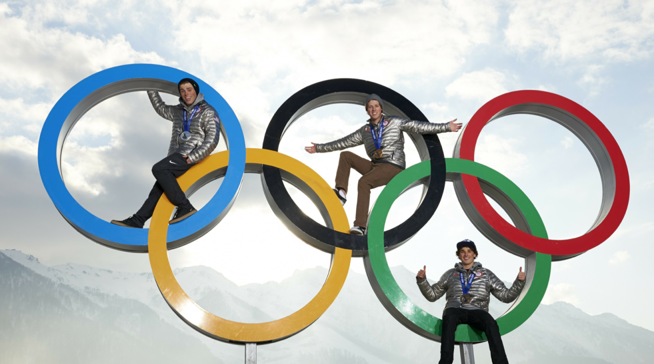SI Now: Olympic trio garner boy band attention back home