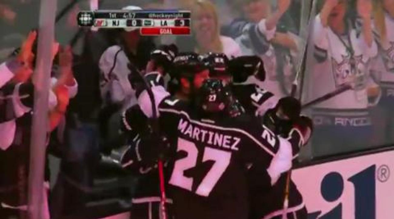 Kings rout Devils, win Stanley Cup