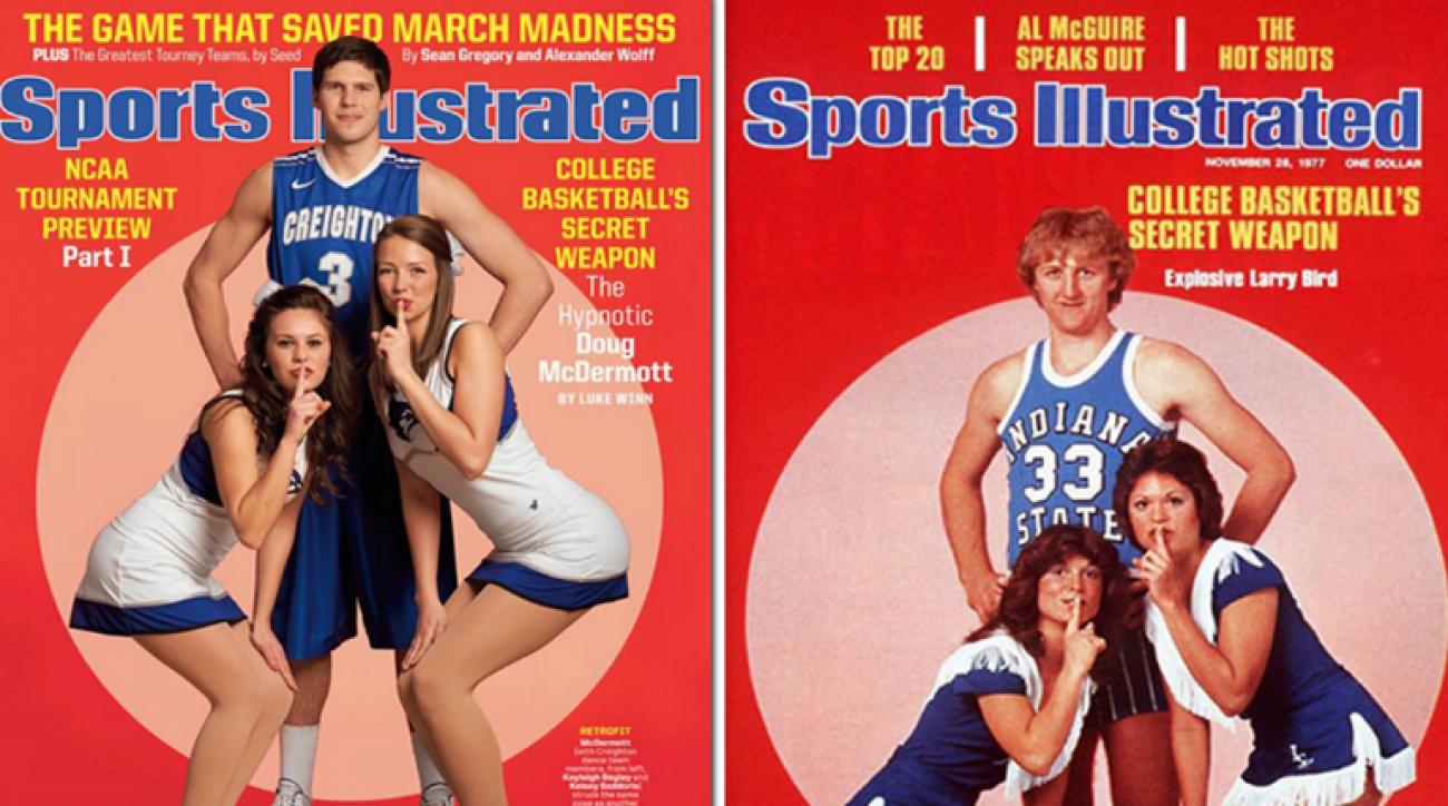 SI Now: Doug McDermott channels Larry Bird for SI Cover