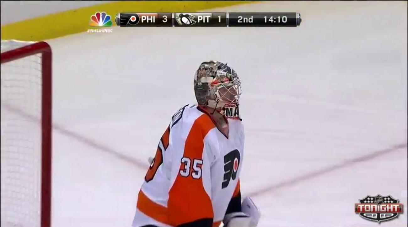 Flyers sweep home-and-home from Penguins