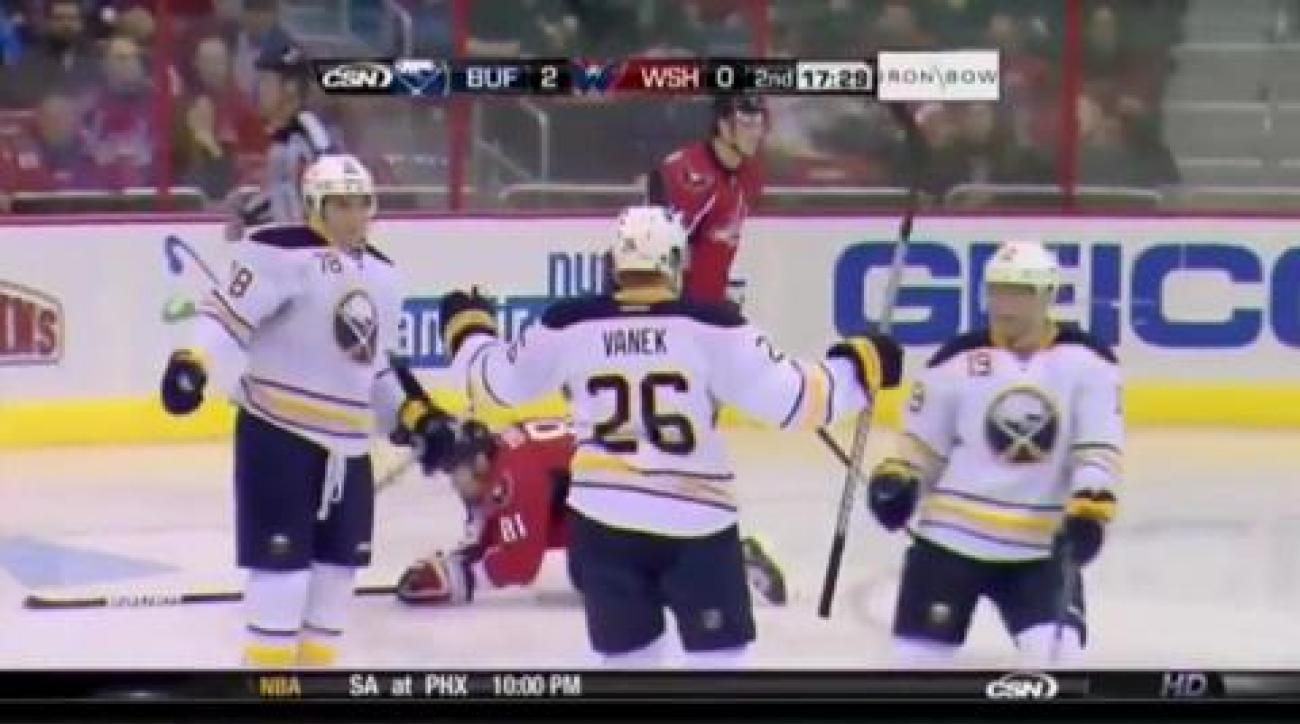 Sabres down Caps for 8th place