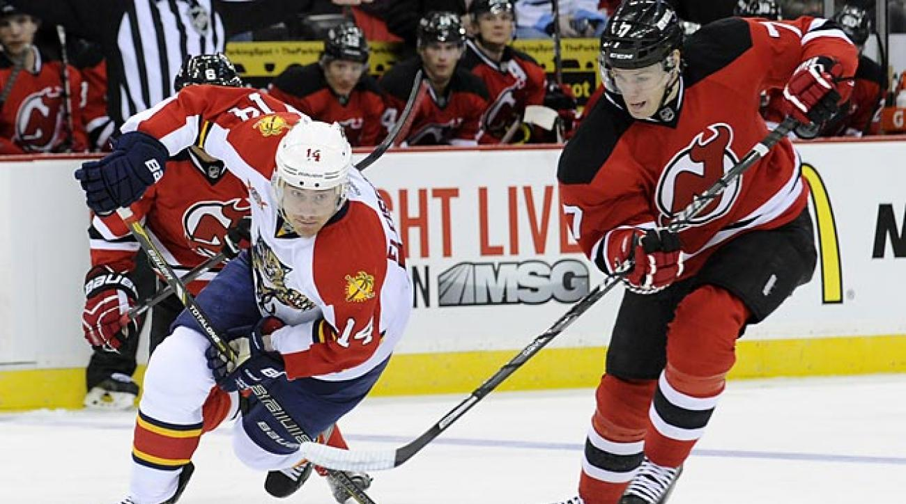 Zajac hat trick leads Devils over Panthers