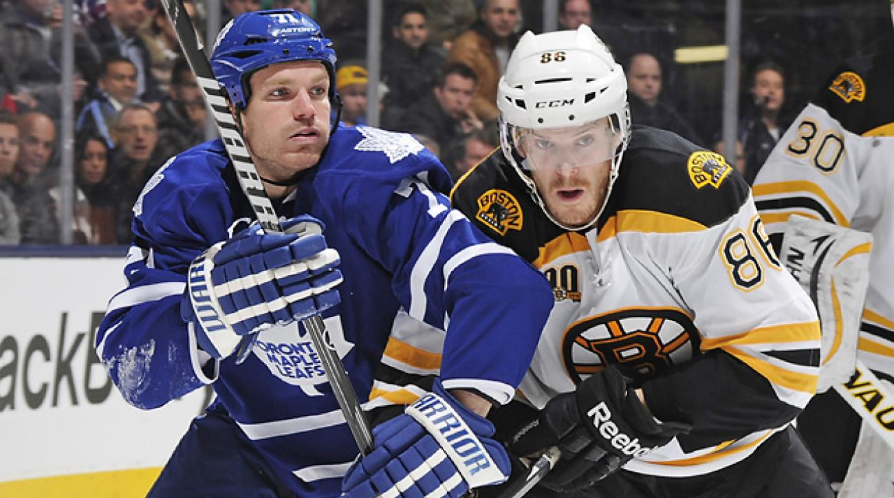 Kadri's OT goal lifts Maple Leafs over Bruins
