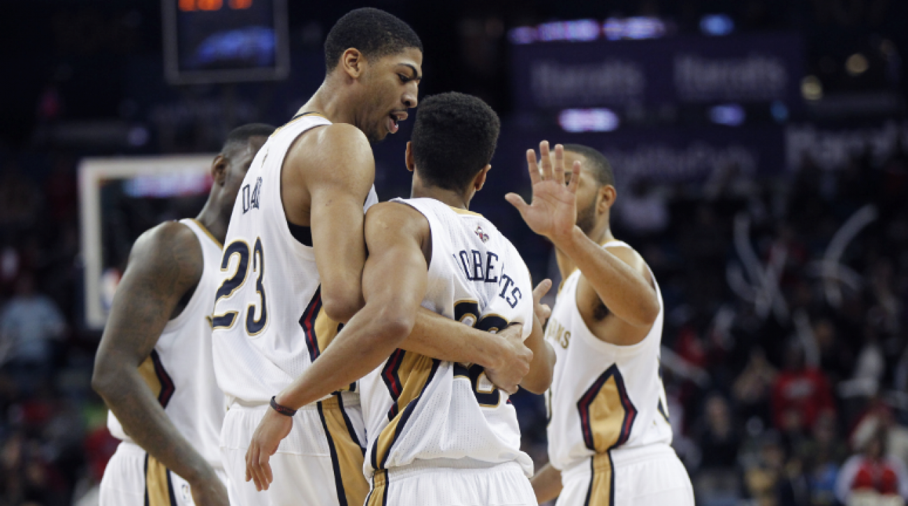 """SI Now: Anthony Mackie says the Pelicans are not just """"the unibrow show"""""""