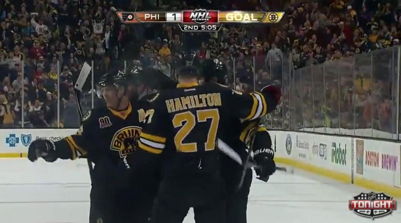 Bruins clinch best record in East with their victory over the Flyers