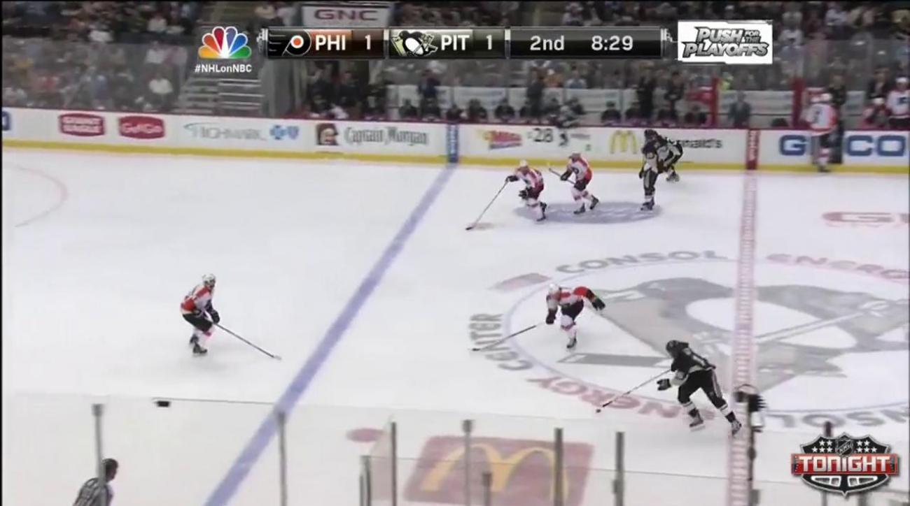 Mark Streit scores game-winner in OT to lead Flyers over Penguins