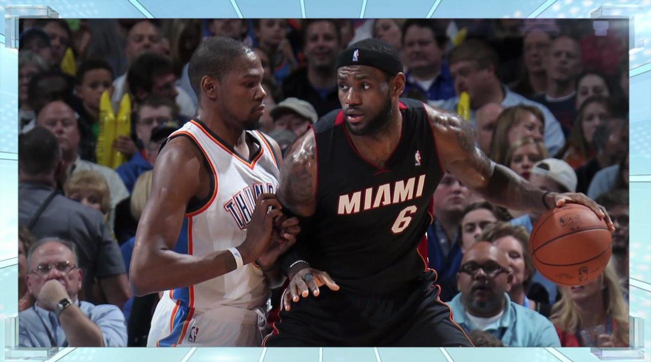 Boomer: NBA Playoffs need LeBron vs. Durant in the Finals