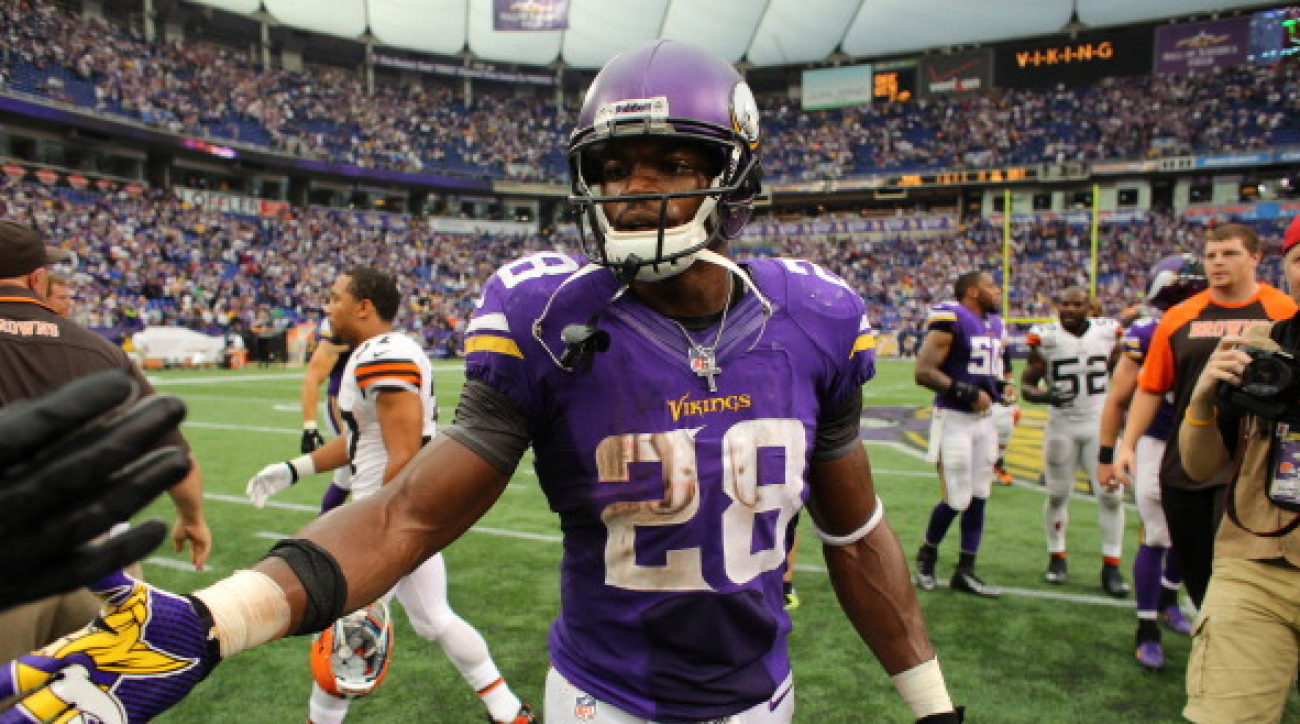 SI Now: Adrian Peterson on the Vikings' future at quarterback