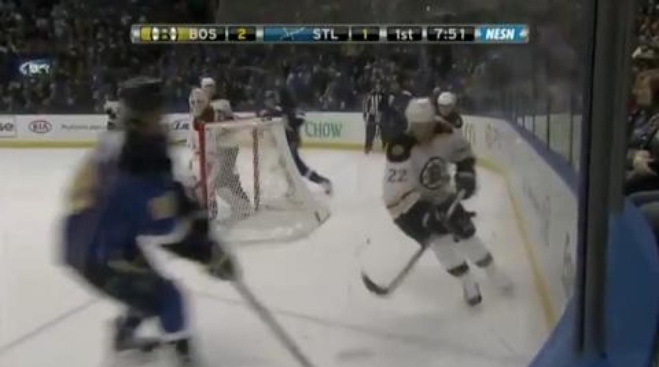 Marchand, Bruins dump Blues
