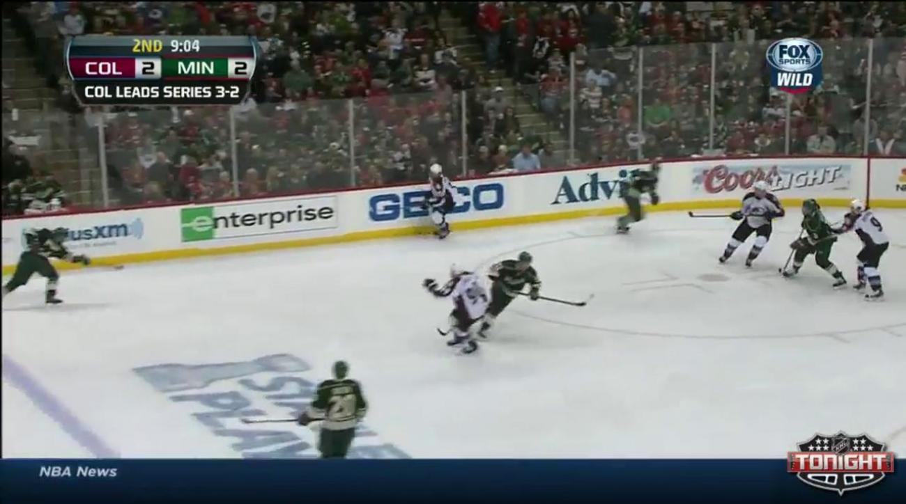 Wild trump Avalanche 5-2 to knot series at 3-3