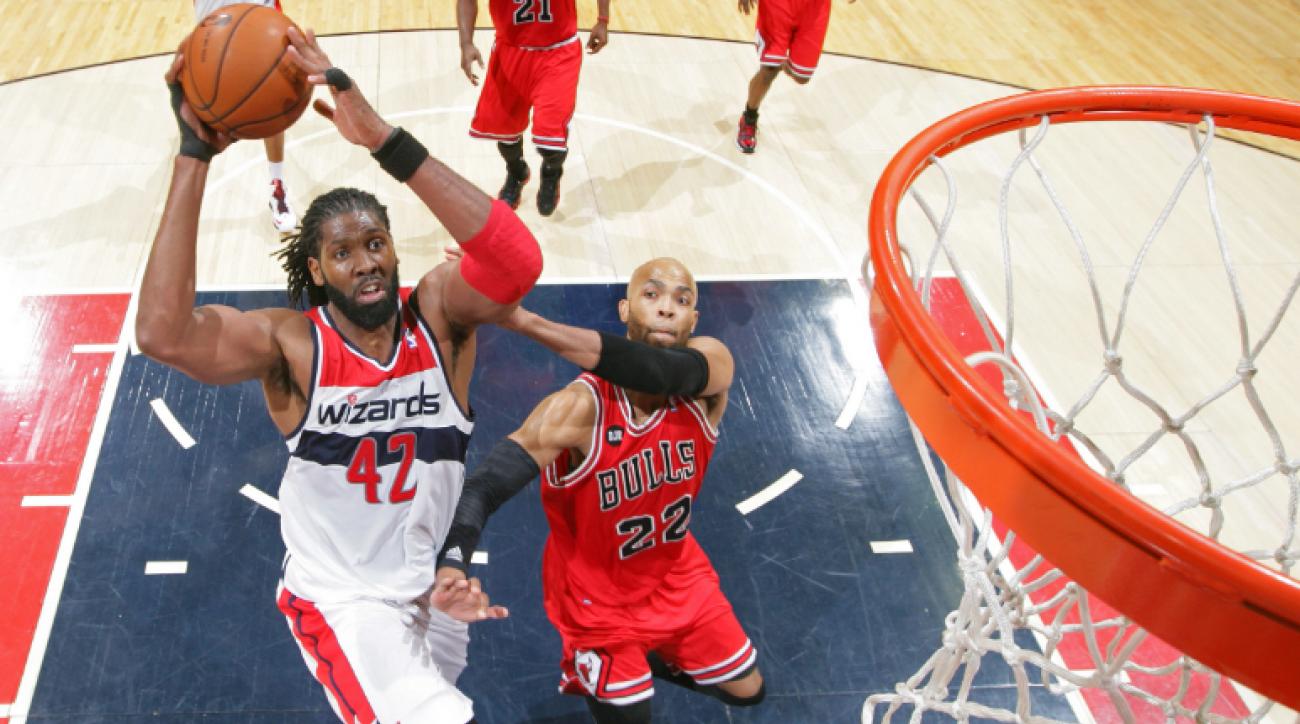 NBA Playoffs: No slowing down Washington Wizards' Nene