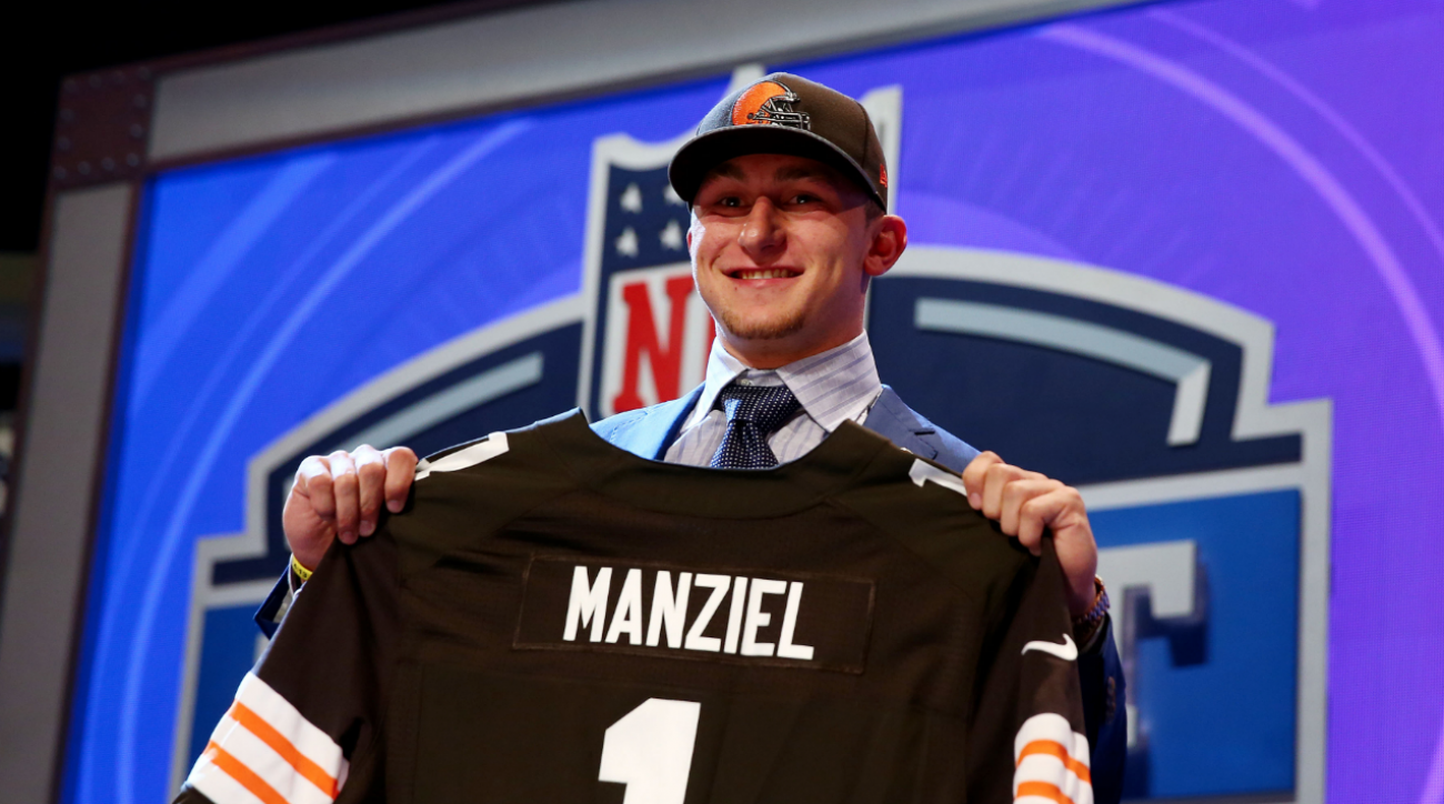 2014 NFL Draft: Johnny Manziel discusses becoming 'Johnny Cleveland'