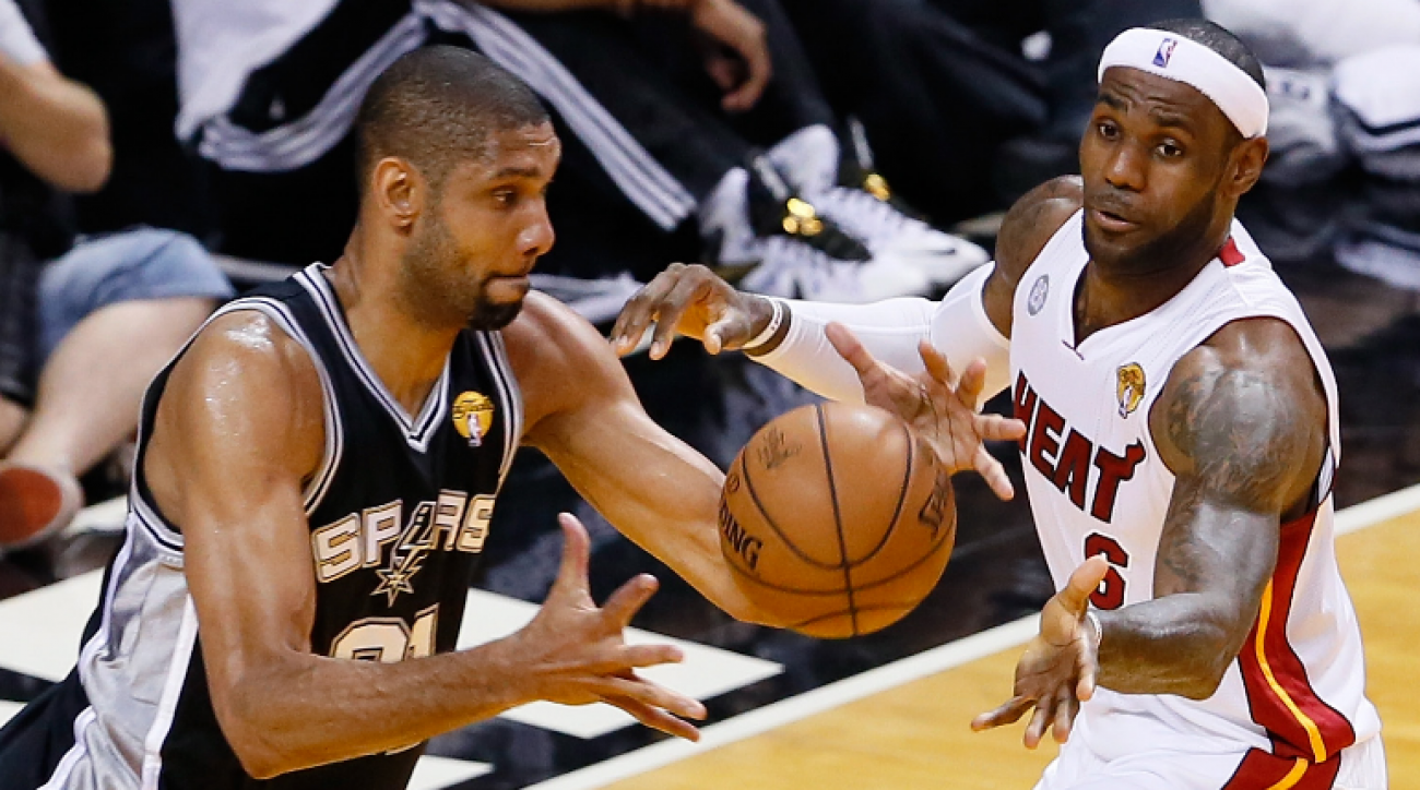 NBA Playoffs: Are Heat and Spurs on another collision course?