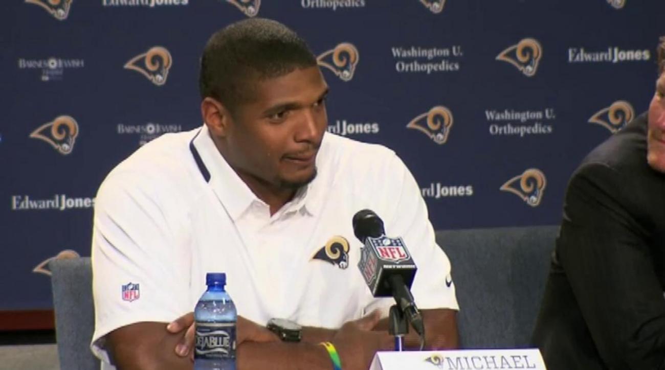 "Michael Sam declares ""I will make this team"""