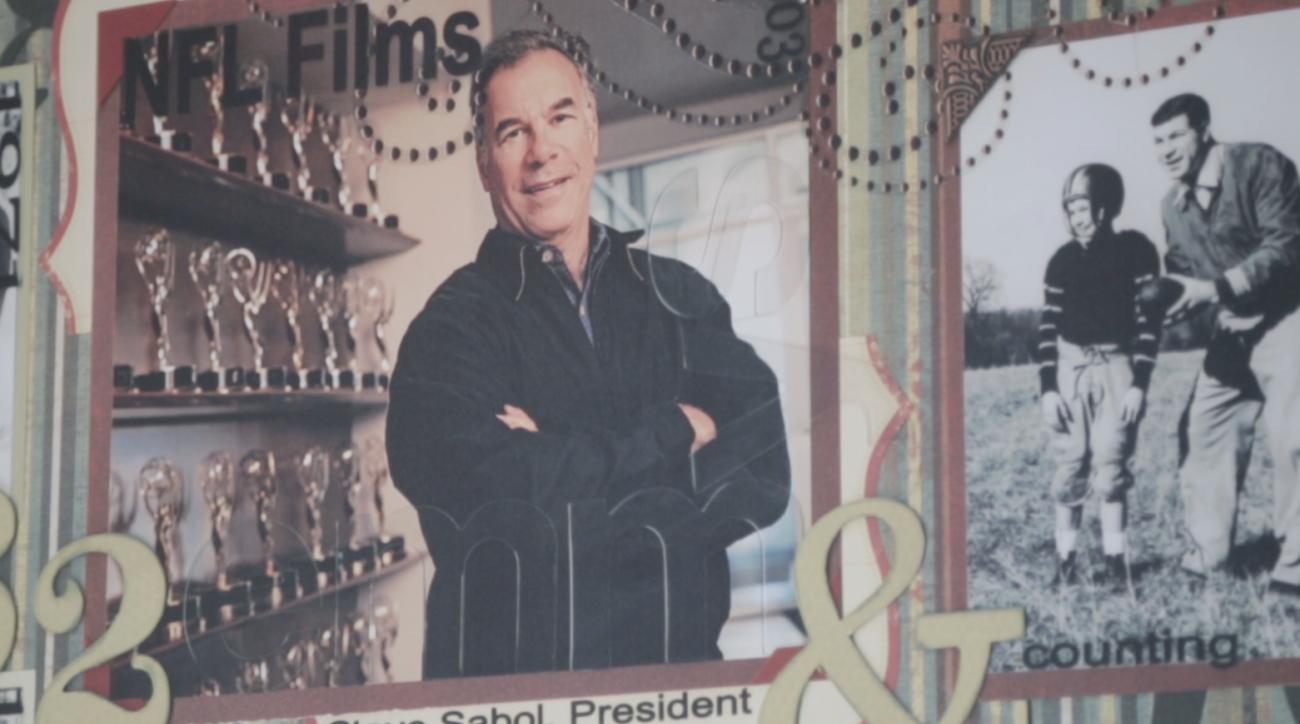NFL 95: Steve Sabol's office