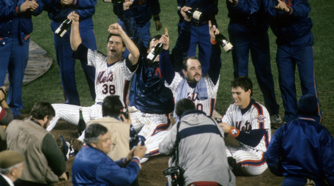 SI Now: Darryl Strawberry and Davey Johnson reminisce about the 1986 Mets