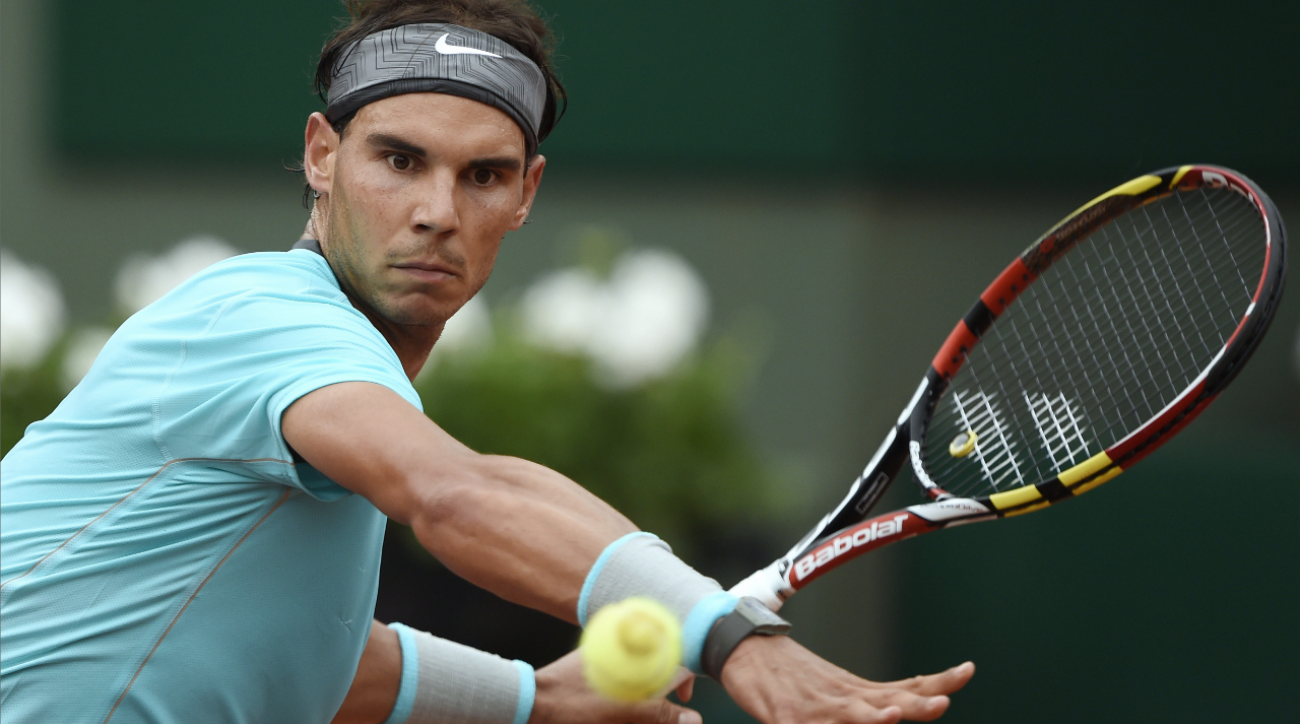 2014 French Open: Nadal cruises through first round