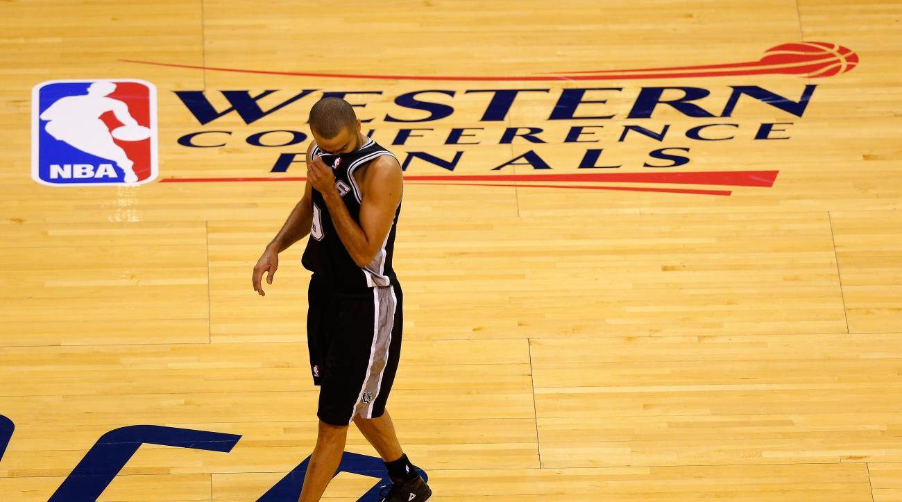 Will Tony Parker's ankle injury prevent him from playing in NBA Finals?