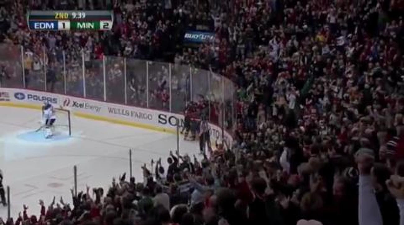 Wild edge Oilers, end skid