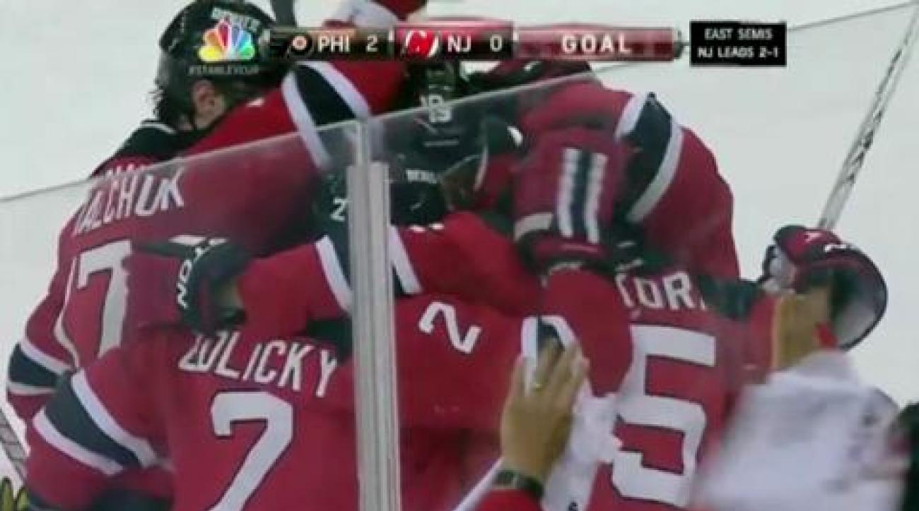 Devils push Flyers to brink