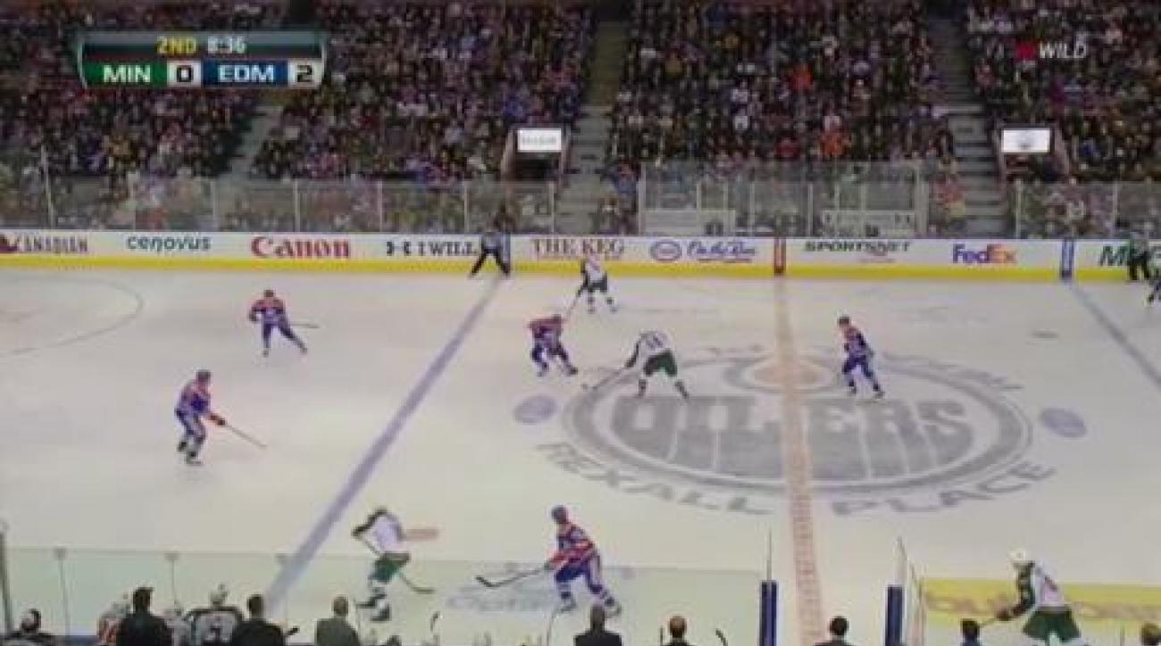 Wild edge Oilers in shootout