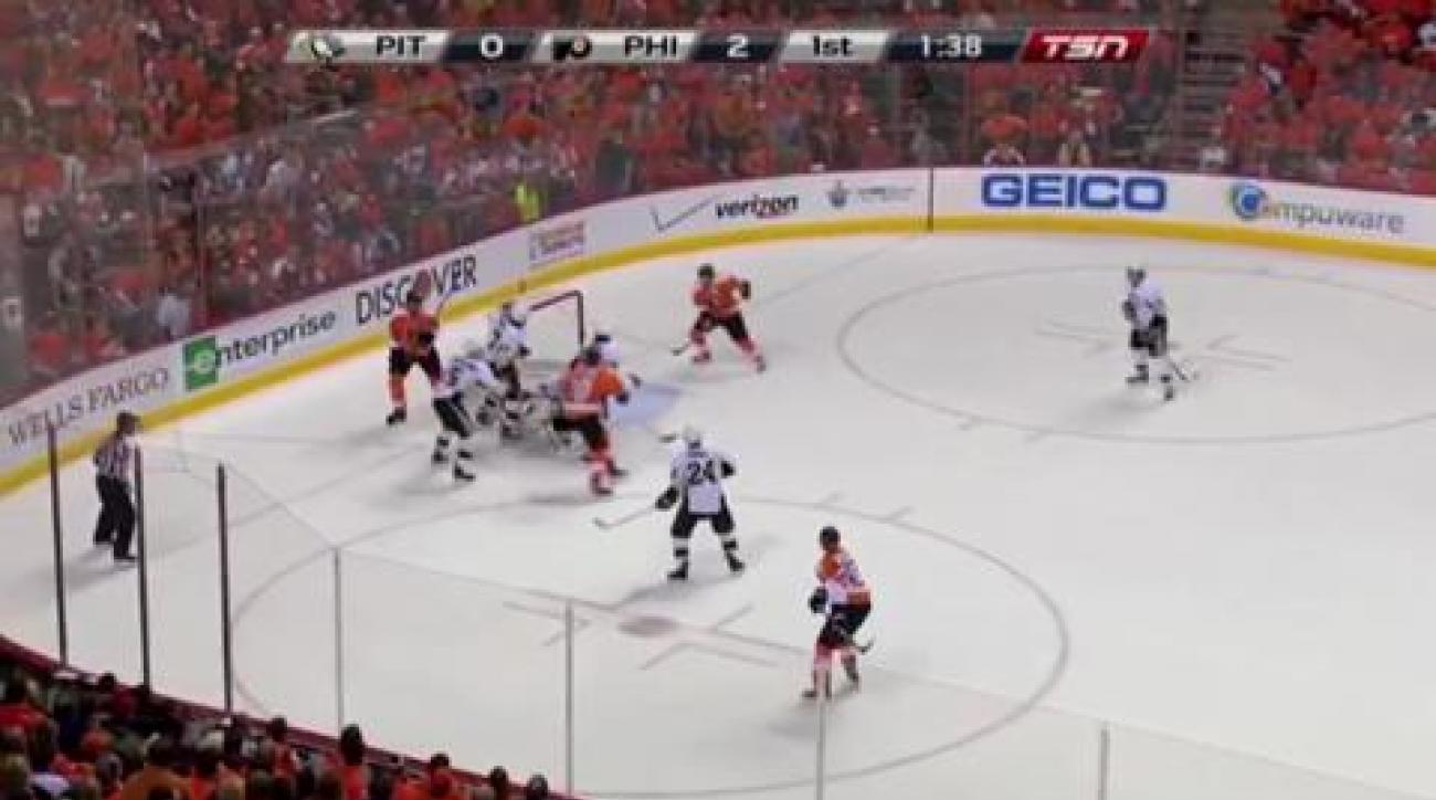 Game 6: Flyers eliminate Pens
