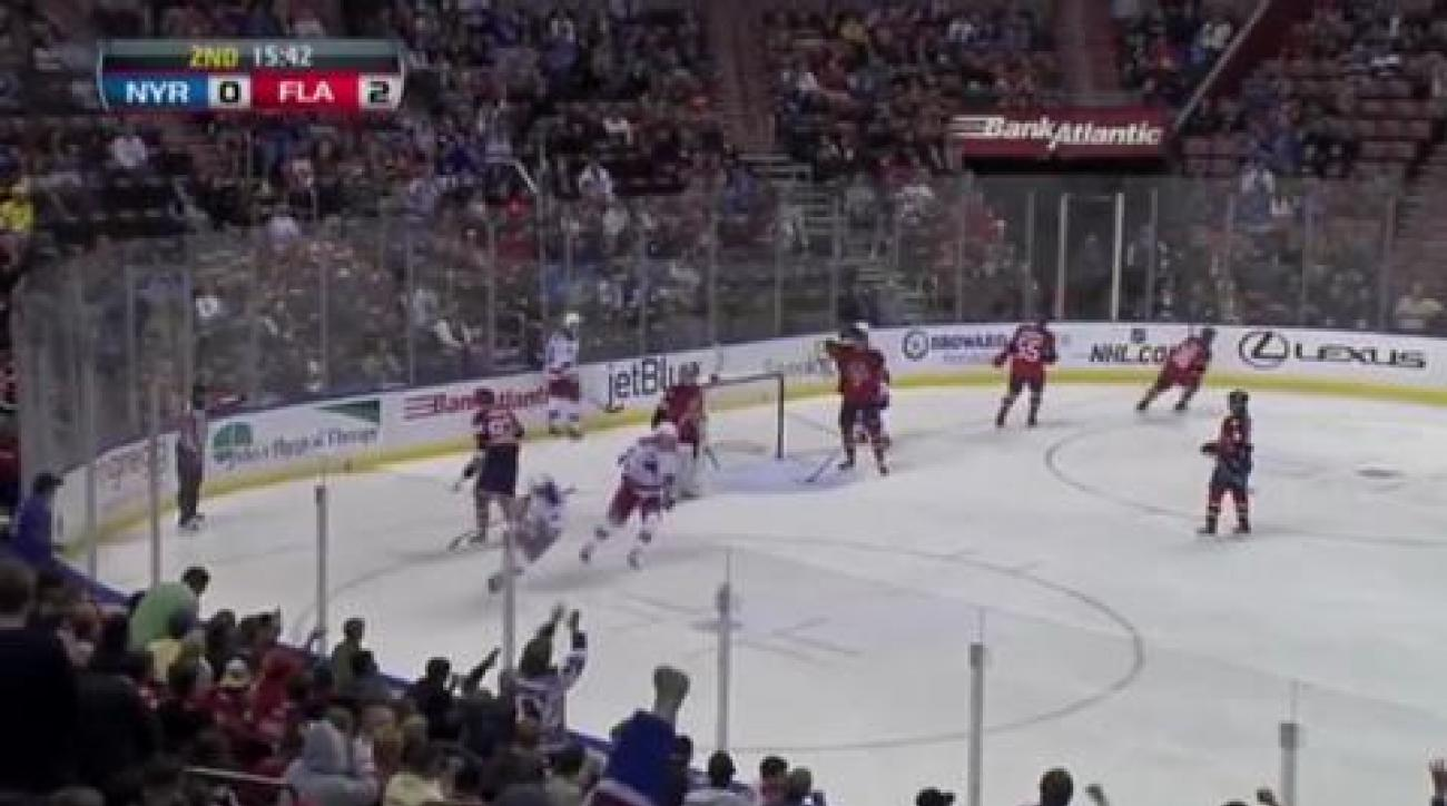 Theodore, Panthers top Rangers