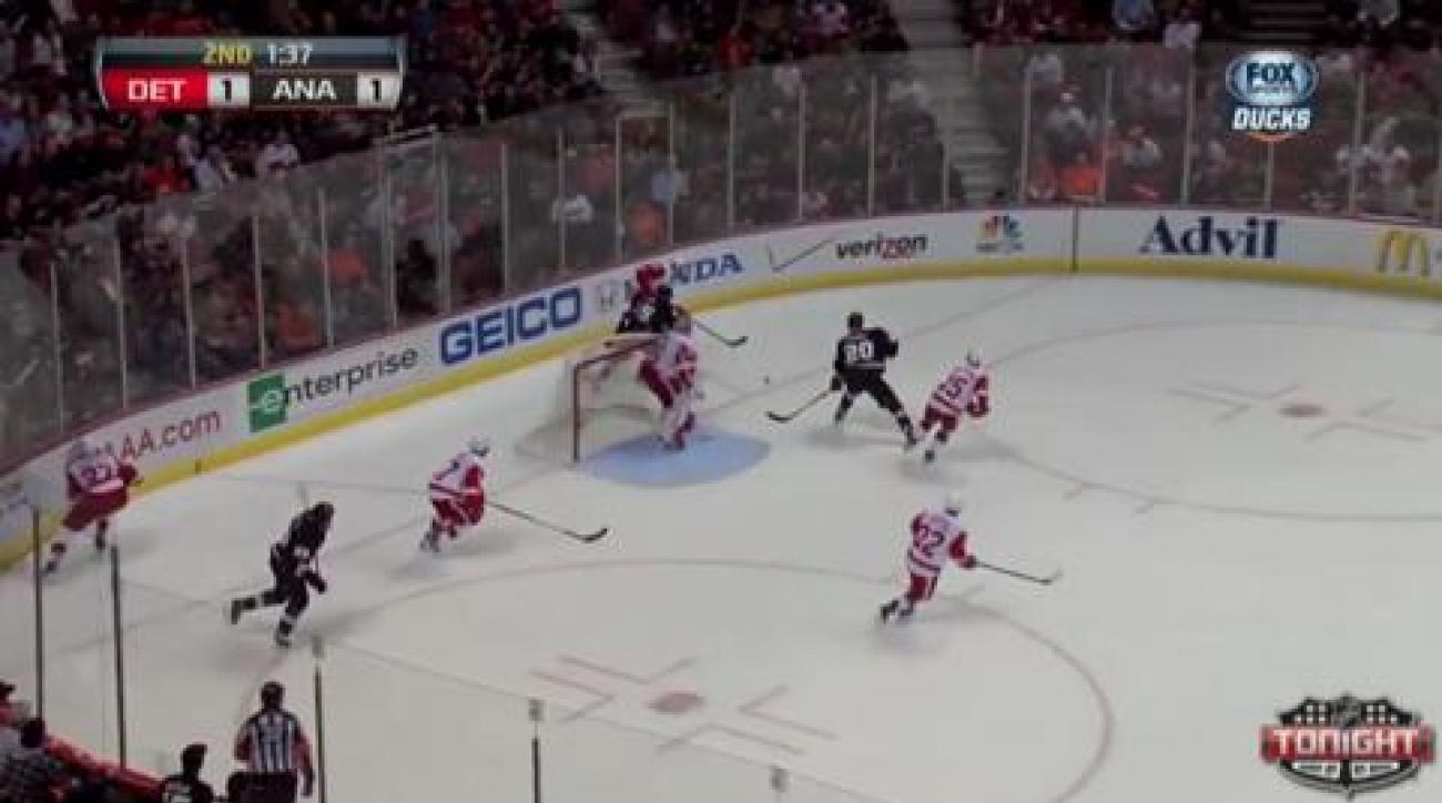 Selanne, Ducks overcome Red Wings to take series lead