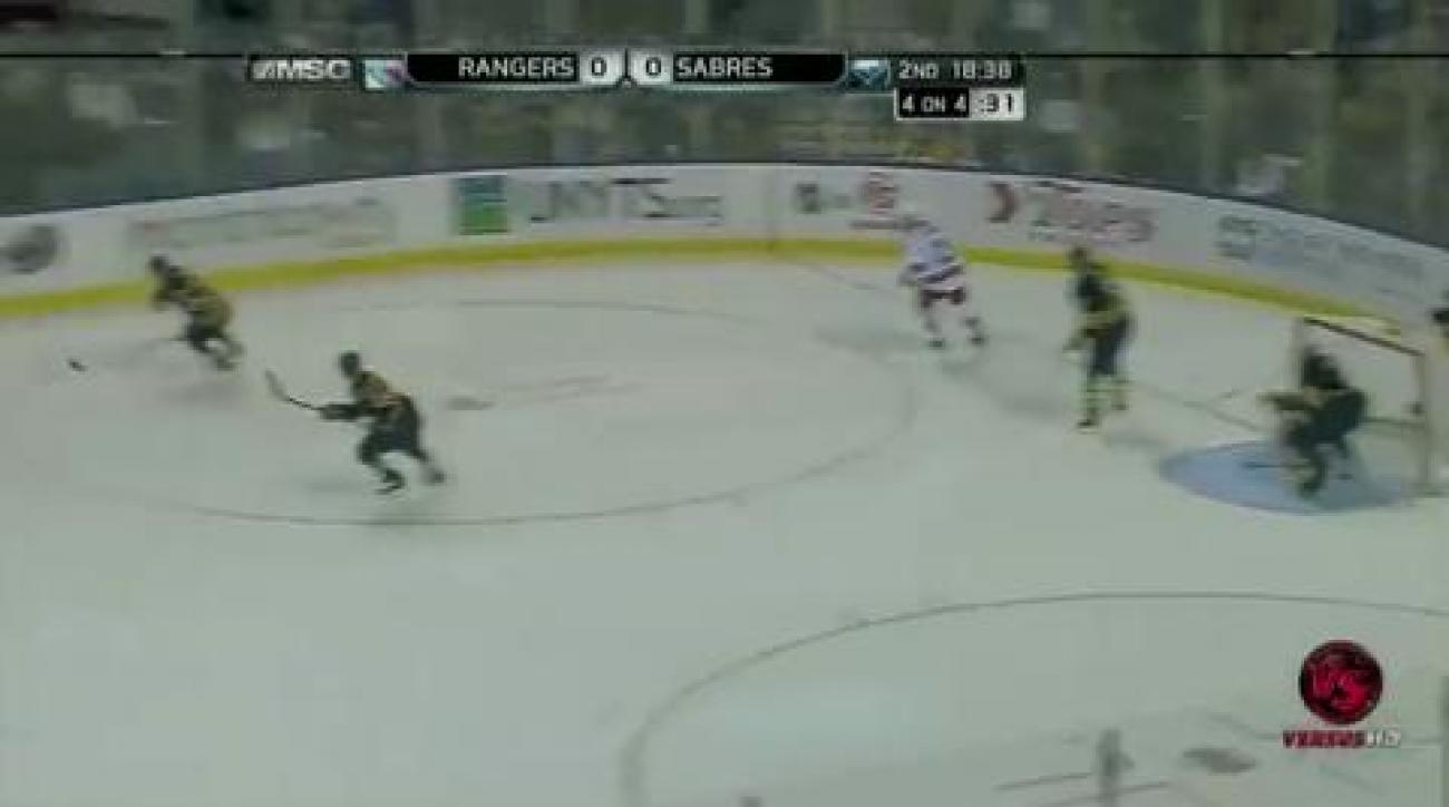 Enroth stops 23 shots, Sabres beat Rangers 1-0
