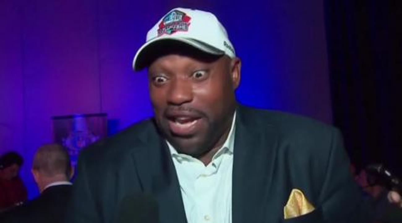 Sapp reacts to being elected